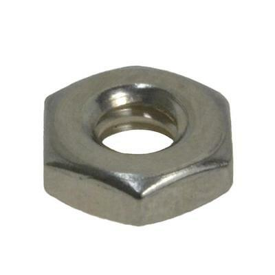 """Hex Standard Nut 10-24 (3/16"""") UNC Imperial Coarse BSW Marine Stainless G316"""