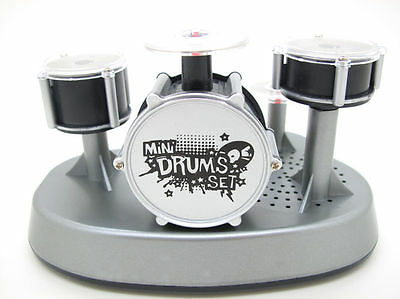 Electric Small Drum Set Toy Recording Percussion Synthesizer Snare Tom Cymbal DJ