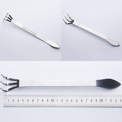 Bonsai & Gardening Stainless Steel Mix-function With Root Rake and Spatula Tools