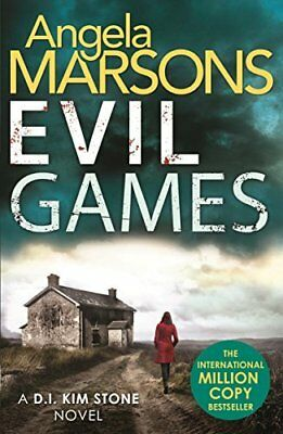 Evil Games: The gripping heart-stopping thr by Angela Marsons New Paperback Book