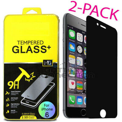 """Privacy Anti-Spy REAL Tempered Glass Screen Protector for 5.5"""" 4.7"""" iPhone 6 6+"""