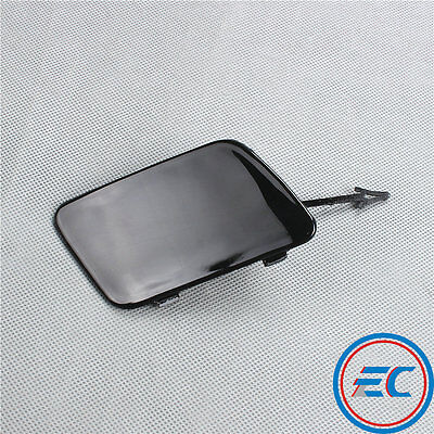 Front Bumper Hook Eye Tow Cover Black Front For AUDI A6 A6 Quattro C6 4F0807441F