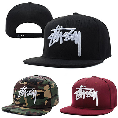 Unisex Mens Women Canvas Baseball Cap Snapback Hat Hip-Hop Bboy Adjustable
