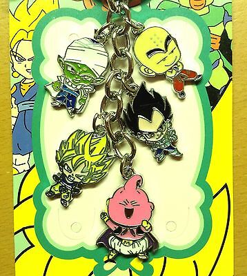 Dragon Ball Z DBZ Anime Keychain Keyring Goku Figure Toy Pendant Fashion Charm