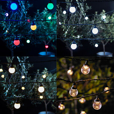 LED Outdoor Festoon Connectable Garden Wedding Christmas Party String Lights