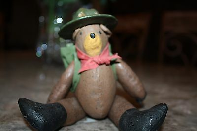 Rare, vintage stuffed Smokey the Bear