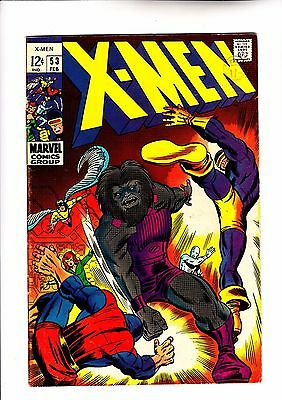 X-Men 53 1st pro Barry Smith art