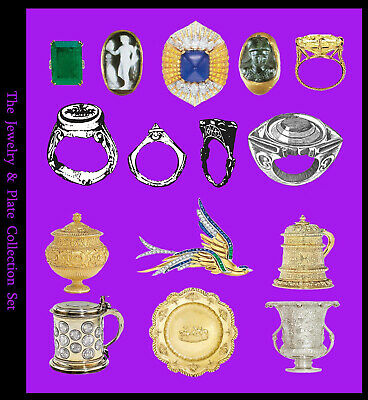 Metal Detecting, Roman & Medieval Rings, Gold & Silver Jewelry, Hallmarks (PDFs)