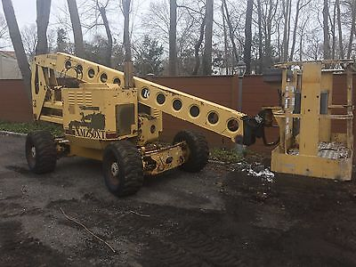 AMZ50XT Grove Aerial retractible boom lift / man lift