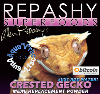 Repashy superfoods Crested gecko Boite de 340g MRP Aliment en poudre complet
