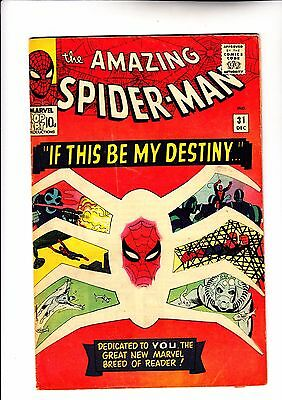 Amazing Spider-Man 31 1st app of Gwen Stacy and Harry Osborn c2