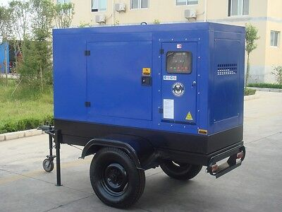 20Kw Diesel Trailer Generator Free Shipping Worldwide: Africa Carribean, So Amer