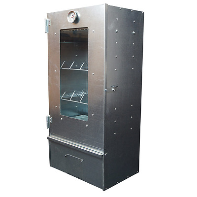 Smoker XL - Smoking oven with 3 floors and thermometer - Free Shipping