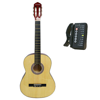 Rocket 4/4 Size Classical Spanish Guitar with Digital Tuner