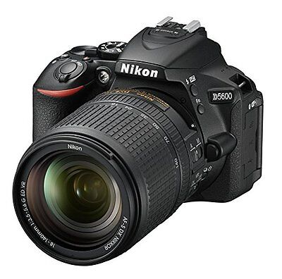 D5600 DX-format Digital SLR w/ AF-S DX NIKKOR 18-140mm f/3.5-5.6G ED VR