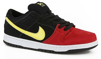 separation shoes 13fef 56745 Nike DUNK LOW PRO SB Black Sonic Yellow Univ. Red Discounted (285) Mens