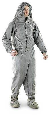 U.S. Military NBC Chemical Suit Charcoal-lined Size Large L