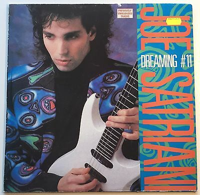 "JOE SATRIANI dreaming #11 12"" VINYL EP - 102361 / 1988 / HARD ROCK / SHRED"
