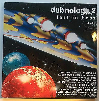 DUBNOLOGY 2 lost in bass 4 x VINYL LP - UK / MIDDLE 7 LP / 1996 / DUB / AMBIENT