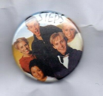 STEPS Button Badge British Dance-Pop Group 5678, Tragedy, One For Sorrow 90s