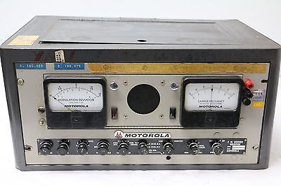 VINTAGE Motorola Test Set Modulation/ Frequency Station Monitor TS-971/G
