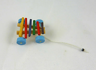 Dollhouse Miniature Playroom Xylophone Pull Toy, IM65378