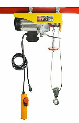 Steel Dragon Tools® 1320 LBS Mini Electric Wire Cable Hoist Overhead Crane Lift
