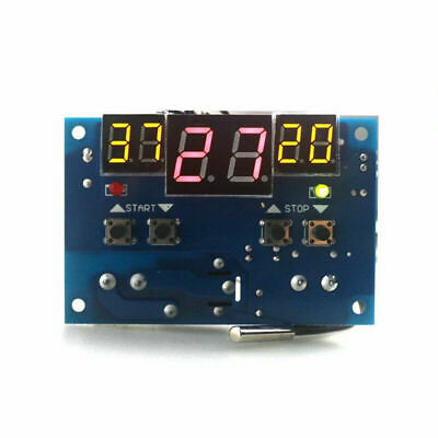 DC12V Intelligent Digital Thermostat Temperature Controller Regulator with Senor