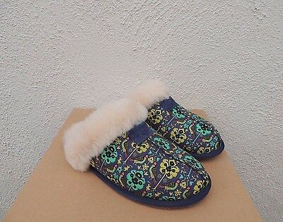 b57a6292377 UGG SCUFFETTE LIBERTY Black FLORAL LIMITED EDITION SLIPPERS multiple ...