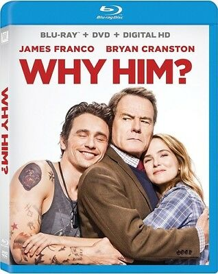 Why Him? [New Blu-ray] With DVD, Widescreen, Subtitled, Ac-3/Dolby Digital, Di