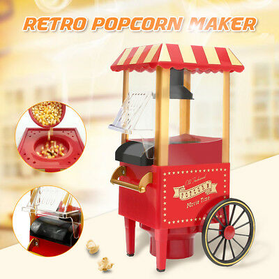 Home Party Jumbo Size DIY Pop Corn Popcorn Maker Electric Popper Machine Tool AU