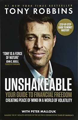 Unshakeable: Your Guide to Financial Freedom by Tony Robbins New Paperback Book
