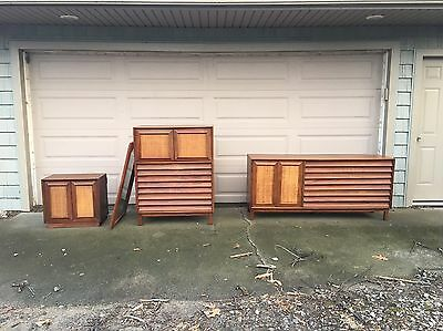 American of Martinsville Mid Century 4 Pc Bedroom Set