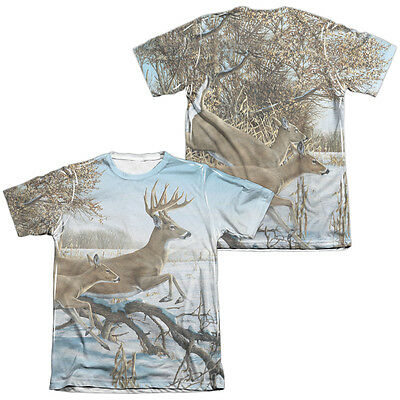 Wild Wings Wildlife SUMMERTIME 2-Sided All Over Print Poly Cotton T-Shirt