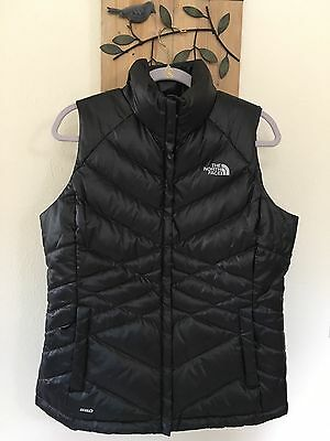 THE NORTH FACE Aconcagua Down Vest Large L NEW black  gray