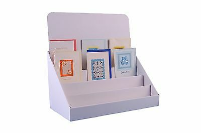 Stand-Store 4 Tier Cardboard Greeting Card Display Stand