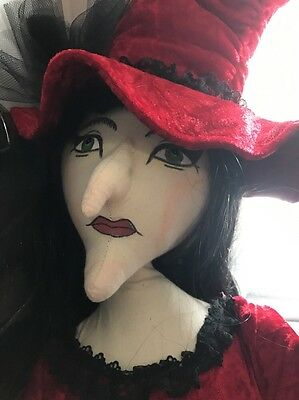 """Cassandra"" Witch - Soft Figure designed by Joe Spencer for Gallerie II"