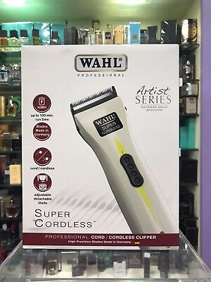 Wahl Tosatrice Super Cordless Artist Series Professionale Kit Completo Capelli
