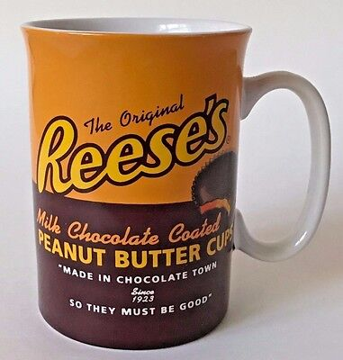 Reese's Peanut Butter Cups Coffee Mug - Vintage Candy Logo