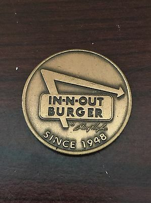 Vintage In-N-Out Burger Preferred Customer Copper Colored Coin 1978