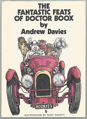 Vintage Children's Book THE FANTASTIC FEATS OF DOCTOR BOOX Davies 1st Ed