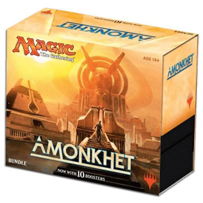 Magic The Gathering MTG Amonkhet Bundle - 10 Booster Packs & Land Cards