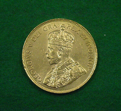 1914 $10 Canadian gold coin