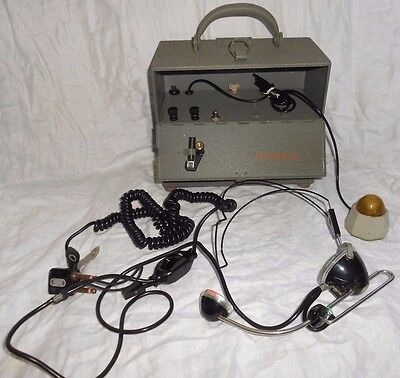 Vintage Western Electric Bell Systems Field Crank Telephone Set 331A