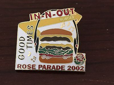 2002 In n out Burger Rose Parade Pin - In-N-Out - Double Double
