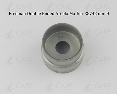 Freeman Double Ended Areola Marker, 38/42 mm θ, Care Breast Markers