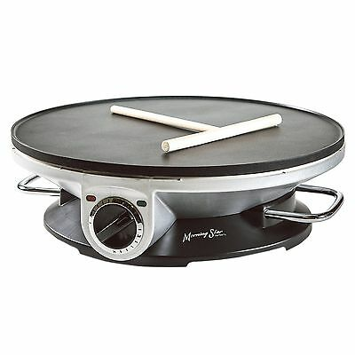 Crepe Maker Electric Commercial 13 Inch Crepe Machine Non Stick Electric Griddle