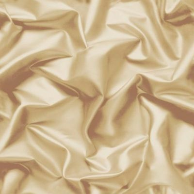 Wallpaper Muriva - Luxury Gathered Silk Crushed Velvet - Cream / Gold - F729-07