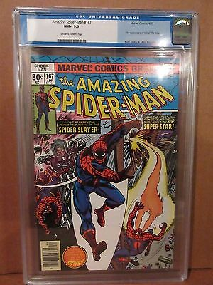 The Amazing Spider-Man #167 - CGC 9.6 - 1st Appearance - (Apr 1977, Marvel)