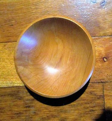 "Hand-Turned ""RIMU"" Wood-Artisan-Wooden Bowl-New Zealand"